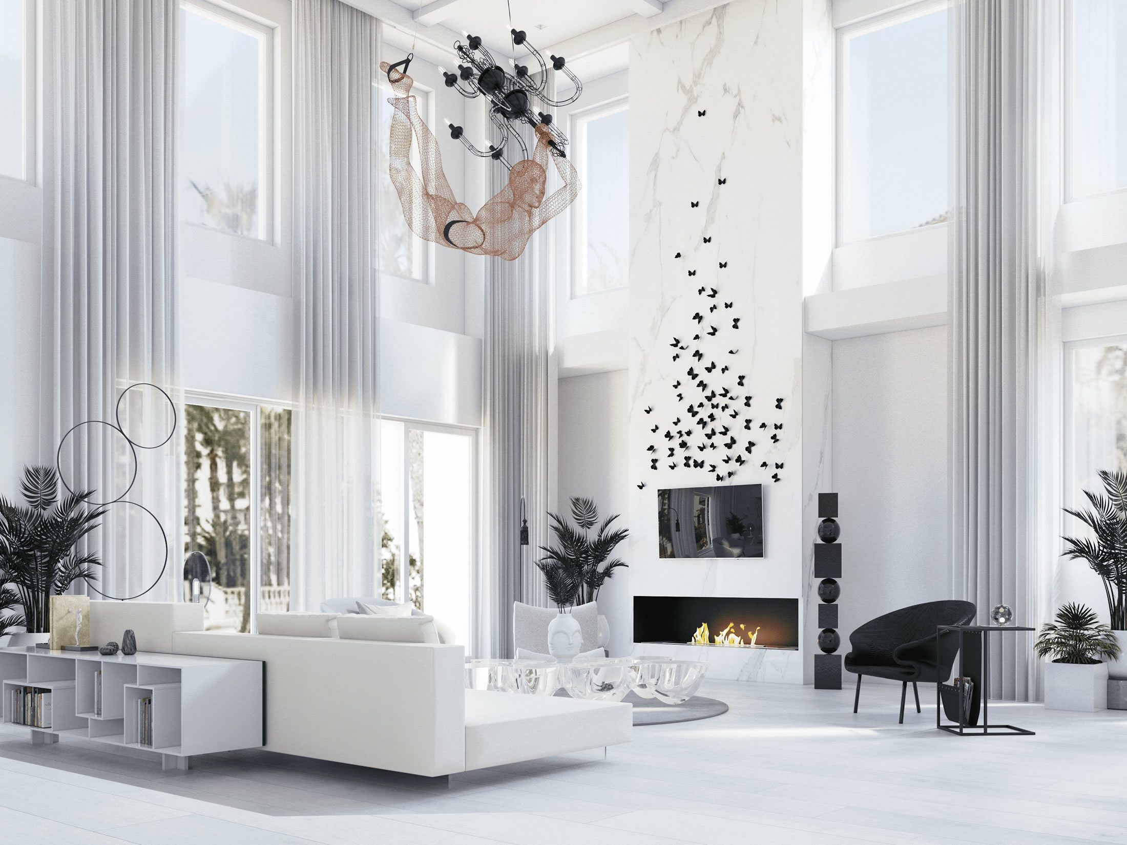 Organic Contemporary Interiors